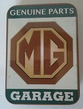 MG Authorised Genuine Parts Keepsake Tin Workshop Tobacco Mints Trinkets etc