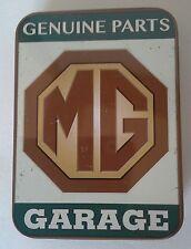 MG Authorised Genuine Parts Keepsake Tin Workshop Tobacco Mints Trinkets etc