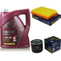Ölwechsel Set 5L MANNOL Energy Combi LL 5W-30 Motoröl + SCT Filter KIT 10140184