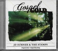 "J.D. SUMNER & THE STAMPS.....""GOSPEL GOLD'......HTF OOP GOSPEL CD"