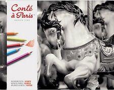 Conte un París Lápices Pastel-Conjunto de 48 Colores