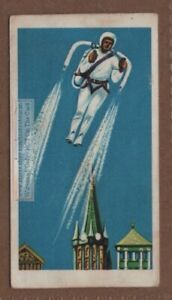 Liquid Gas Rocket Powered Back Pack Vintage Trade Ad Card