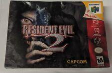 Resident Evil 2 N64 Factory Sealed