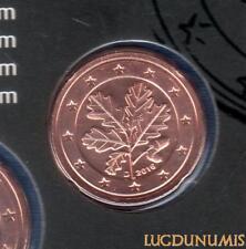 Allemagne 2016 2 centimes D Munich BU FDC provenant coffret 33000 exemplaires -