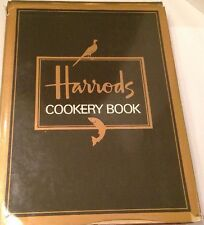 HARRODS COOKERY BOOK by Marilyn Aslani 1985 HCDJ
