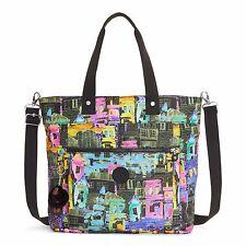 NWT Kipling Lizzie CORONADO STREETS XL Tote travel weekender gym carry-on Bag