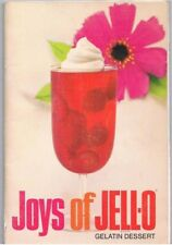 Joys Of Jello Cook Booklet 9th Edition Gelatin Recipes Vintage 1970 W/Fish Mold