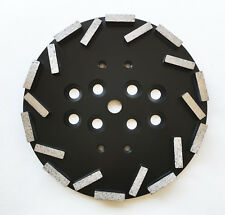 """NEW 10"""" Concrete Grinding Head Disc Plate for Edco,MK,Blastrac, Hus... Grinders"""