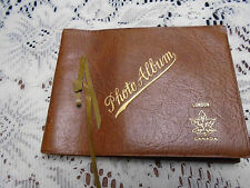 Leather Photo Album Full Baby Boy B&W Photos Toy Growing Up Infant London Canada