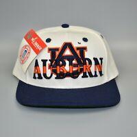 Auburn Tigers NCAA Vintage 90's Nu Image Adjustable Snapback Cap Hat - NWT