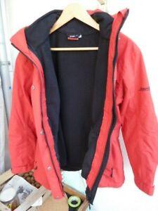 Maier Sports Doppeljacke, Farbe: rot, Größe: 38, sehr guter Zustand