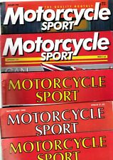 Various Issues of MOTORCYCLE SPORT Magazine from September 1970 to May 1996