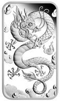 2019 Dragon Rectangular 1oz Silver Proof Coin