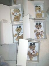 """Annette Funicello Bear """"Mousekebear"""" Days Of The Week Limted Edition 2500"""