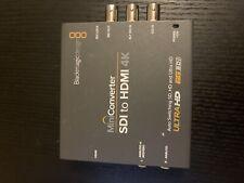 Blackmagic Design Mini Converter SDI to HDMI 4K