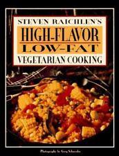 High-Flavor, Low-Fat Vegetarian Cooking, Raichlen, Steven, Good Book