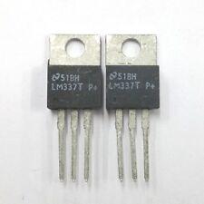 Lot of 2 National LM337T -1.2V to -37V Adjustable Negative Voltage Regulators