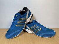 Adidas Adizero Adios Men's Blue Trainers Size UK 10