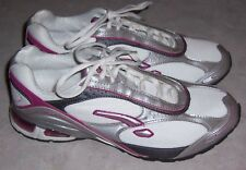 LA GEAR Pink White Silver Athletic Sneakers Womens Running Shoes Size 9.5M EUC