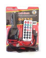 Trasmettitore Fm 8in1 Con Cavo Triplo Jack Microusb Iphone 5 Mp3 Telecomando hsb