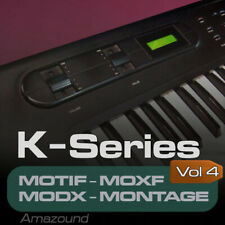 Kawai K4 samples para Yamaha motif Es XS XF Moxf Modx montage keymaps Listo Play