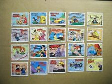 USA Used, 1995 Issue32 Cent Comic Strip Classics (Set of 20)