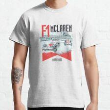 Formula 1 McLaren F1 racing car Classic White T-Shirt Unisex Men Women S-5XL