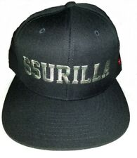 SSUR Caviar Cartel Snapback Black Hat SSURILLA Camo Print with Red Star on Side