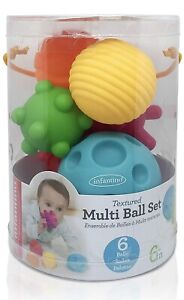 Infantino Sensory Textured Multi Ball Set *NEW*