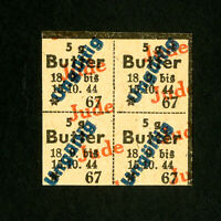 Germany Stamps Rare cancelled Holocaust label