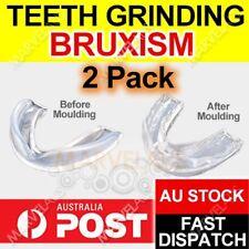 2 x NIGHT GUARD Teeth Grinding Custom Dental Mouthguard Stop Grind Tooth Sleep