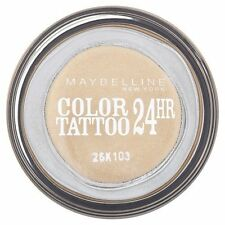 Maybelline Color Tattoo 24Hr Eye shadow Smooth Cream gel Eternal Gold new sealed