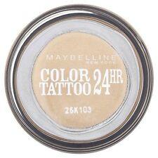 Maybelline Color Tattoo 24hr Ombretto Crema Liscio Gel ETERNA Gold NUOVO SIGILLATO