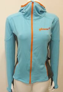 QLOOM CRAIDLE MOUNTAIN fleece hoody jacket Trainning apparel Women Sky