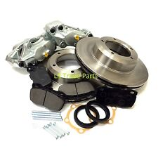 LAND ROVER DEFENDER 90 FRONT VENTED BRAKE UPGRADE KIT, DISCS, CALIPERS & PADS