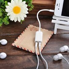 Extension Headphone Audio 1 Male To 2 Female Cable 3.5mm Splitter Earphone
