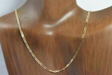 2.0 mm Marine Link Chain 18 in Long in 14k Solid Italian Real Gold