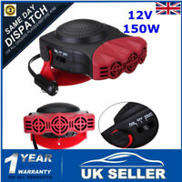 12V Car Portable Ceramic Heater Cooler Dryer Fan Defroster Demister Deicer Warm