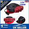 12V Car Portable Ceramic Heater Cooler Dryer Fan Defroster Demister Deicer Warm