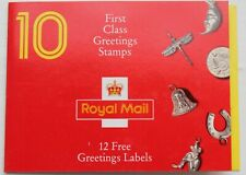 Gb Greetings Booklet – with Cyl. Nos. – Um (Mnh) (Se2)