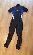 Neil Pryde 3000 Series Damen Neopren Schwimmanzug Wetsuit schwarz blau