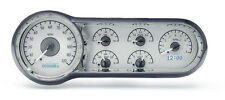 Dakota Digital 53 54 Chevy Car Analog Dash Gauges Silver Alloy White VHX-53C-S-W