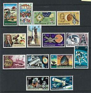 Ascension 1971, Evolution of Space Travel, Definitive Set of 14 sg135/48 LMM
