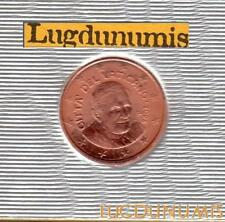 Vatican 2006 1 Centimes D'Euro FDC BU 85000 exemplaires Provenant du BU RARE - V