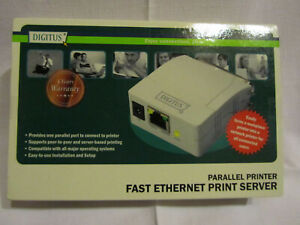 Digitus Parallel Printer Fast Ethernet Print Server ZR531F03-000