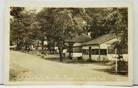 TIPPECANOE Lake Indiana CRIPPLE GATE Heights RPPC to Muncie Postcard I12
