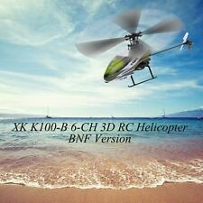 High Quality Original XK Falcon K100-B 6CH 3D 6G System BNF RC Helicopter W4C4