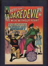 Daredevil  marvel comic Silver Age # 5 1st  new Logo wally wood art Stunning 8.5