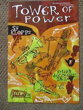 Tower Of Power Fillmore Poster Sy Klopps Original Bill Graham 503 Grady McFerrin