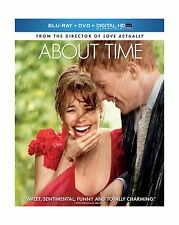 About Time (Blu-ray + DVD + Digital HD UltraViolet) Free Shipping